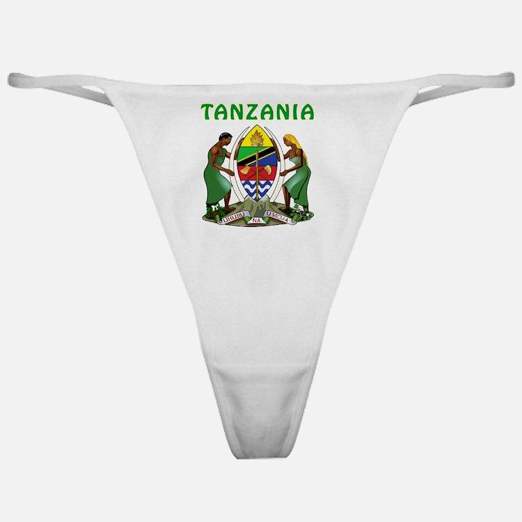 Tanzania Coat Of Arms Classic Thong