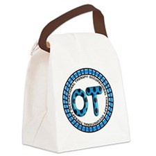 OT PENDANT BLUE COMPLETE Canvas Lunch Bag