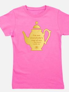 Cup of tea Girl's Tee