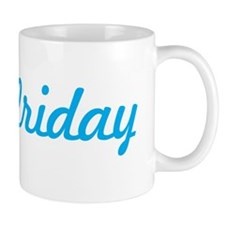 Aloha Friday Hawaii Fancy Design Mug