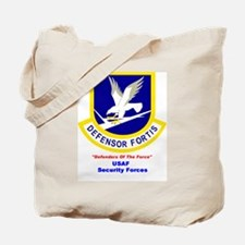 Security Forces Tote Bag