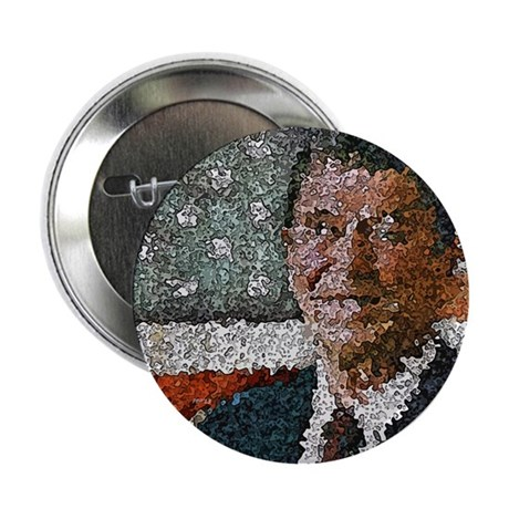 "Ronald Reagan With Flag 2.25"" Button"
