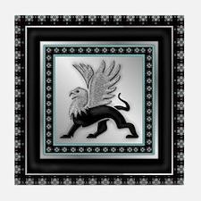 Griffin Magic Tile Coaster