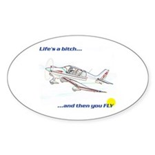 Fly! Robin DR400 Oval Decal