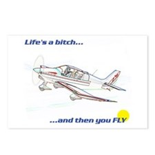 Fly! Robin DR400 Postcards (Package of 8)