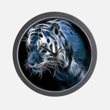 Night Tiger Wall Clock