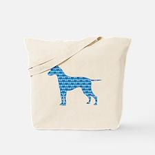 Bone Ridgeback Tote Bag