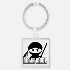 Ninja mode Square Keychain