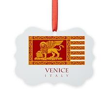 Venice Flag Ornament