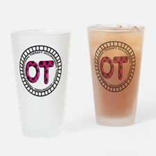 OT PENDANT FUSCHIA Drinking Glass