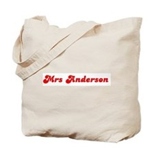 Mrs Anderson Tote Bag