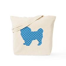 Bone Spaniel Tote Bag