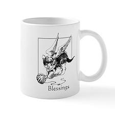 Angel Kitten Blessings Mug