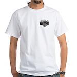 Masonic Photographer White T-Shirt