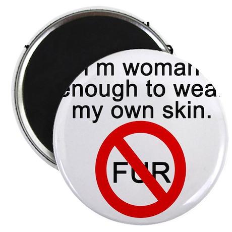 No to Fur Magnet