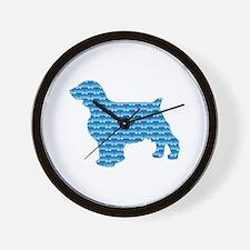Bone Welshie Wall Clock