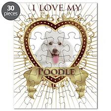 Poodle Love Puzzle