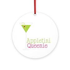 Appletini Queenie Round Ornament