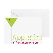 Appletini Queenie Greeting Card