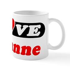 I Love Julianne Mug