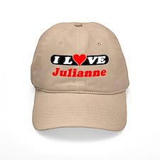 I Love Julianne Baseball Cap