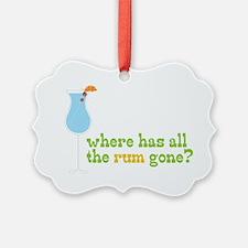 Rum Gone Ornament