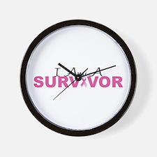 I Am A Survivor Wall Clock