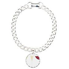 Drink Trio Charm Bracelet, One Charm