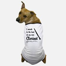 March to the Beat: Clarinet Dog T-Shirt