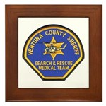 Ventura Search and Rescue Framed Tile