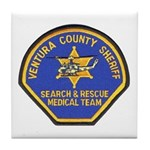 Ventura Search and Rescue Tile Coaster