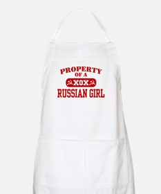 Property of a Russian Girl BBQ Apron