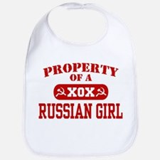 Property of a Russian Girl Bib