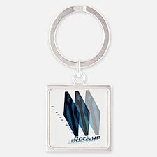 Boricua Wear Square Keychain