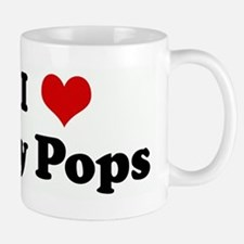 I Love my Pops Mugs