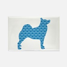 Bone Buhund Rectangle Magnet (100 pack)
