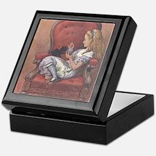 Alice in Chair Keepsake Box