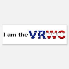 I am the VRWC Bumper Bumper Bumper Sticker