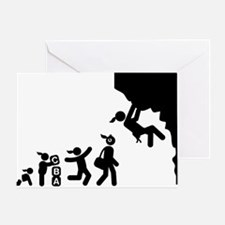 Rock-Climbing-AAI1 Greeting Card