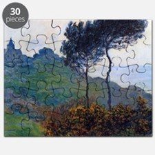 Claude Monet Church at Varengeville Puzzle