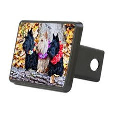 Aloha Autumn Scotties 2 Hitch Cover