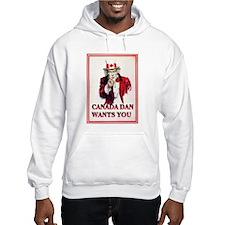 Hooded Canada Dan Sweatshirt