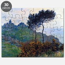 Claude Monet Church at Varengeville Puzzle