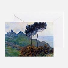 Claude Monet Church at Varengeville Greeting Card