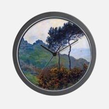Claude Monet Church at Varengeville Wall Clock