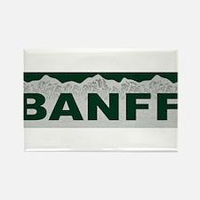 Banff, Canada Rectangle Magnet