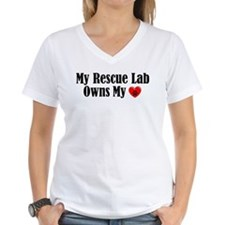 Heart Owning Rescue Lab Shirt