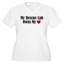 Heart Owning Rescue Lab T-Shirt