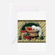 Happy Holidays Ferret Greeting Cards