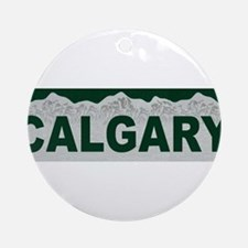 Calgary, Alberta Ornament (Round)